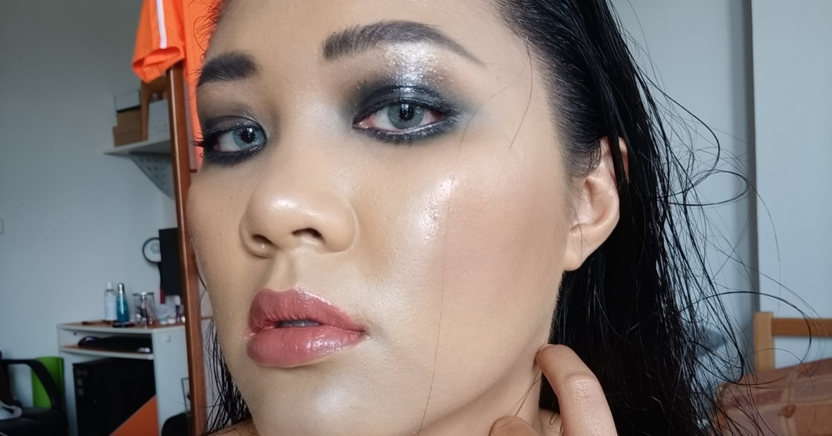 Wet Look with Smoky eyes แบบเปรอะๆ by Sweetpigiiz