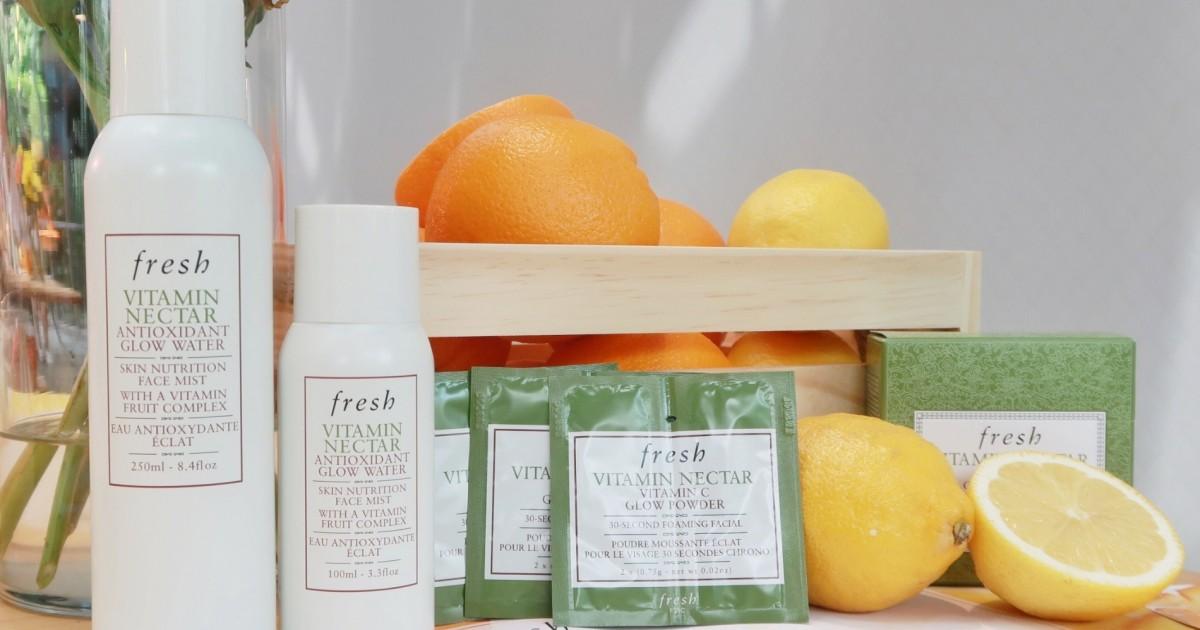 �ล�าร���หารู��า�สำหรั� fresh vitamin nectar antioxidant glow water