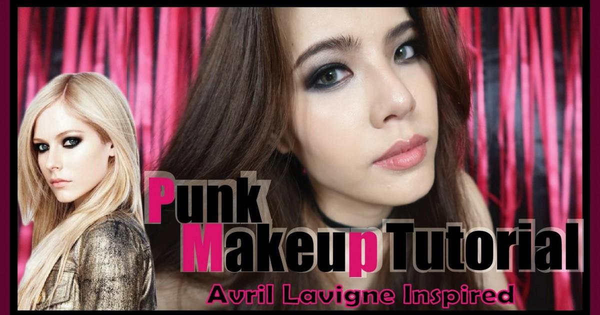 Makeup Tutorial Punk Makeup Tutorial Avril Lavigne Inspired