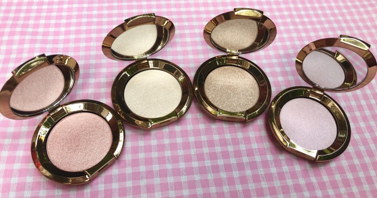 Review :: Becca Macaron Collection Shimmering Skin Perfector Pressed Mini Set