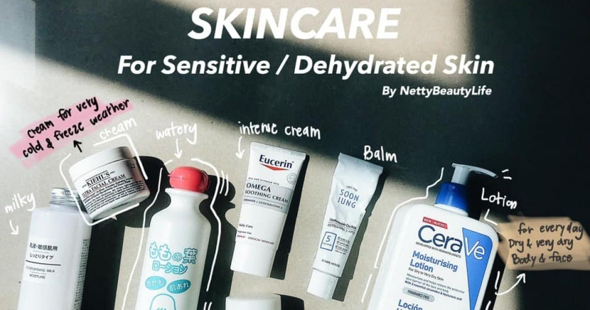 [ส า ร ะ] หลักการเลือก Skincare สำหรับผิวระคายเคืองง่าย + พร้อมเปิดกรุแนะนำสกินแคร์เพื่อผิวขี้แพ้ให้กลับมาชนะได้  #เครื่องสำอาง2018
