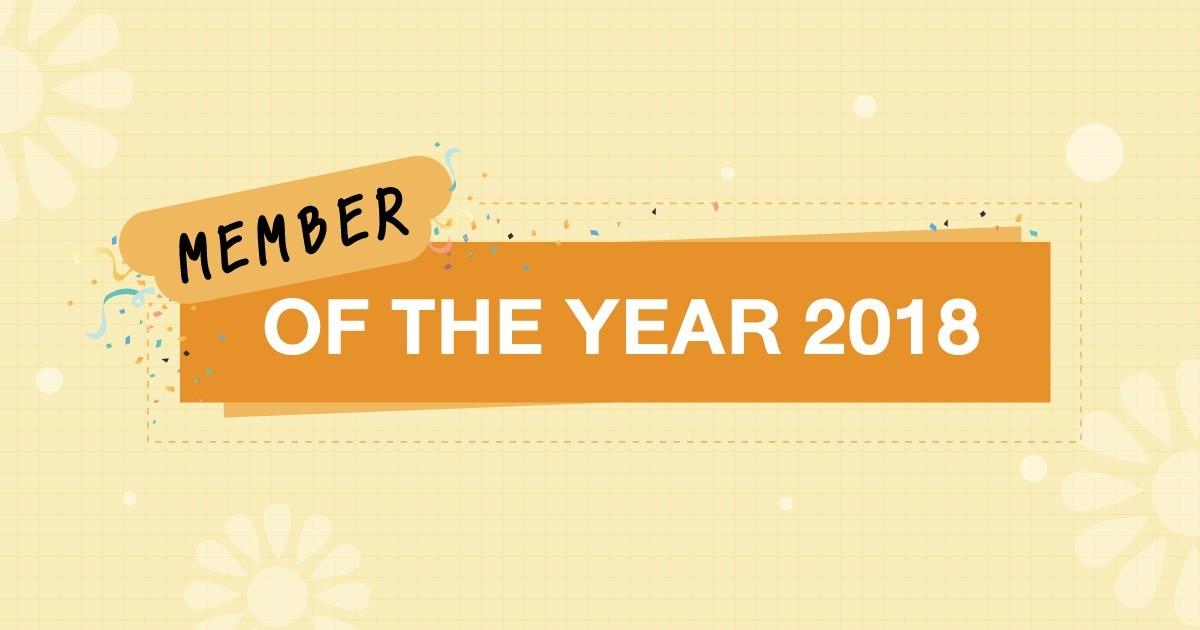 สุดยอดสาวจีบันประจำปี : MEMBER OF THE YEAR 2018
