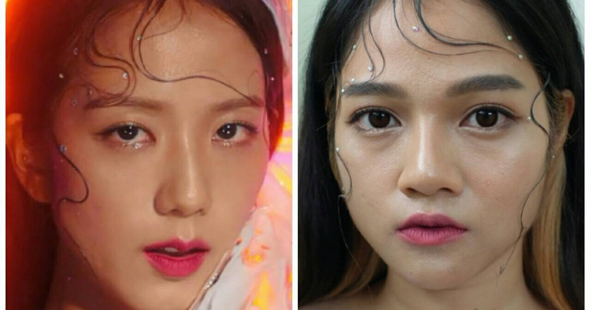 "HOW TO : JISOO ""Kill this love"" inspired make up แต่งหน้าฉ่ำๆ แบบจีซูกันเถอะ!!"