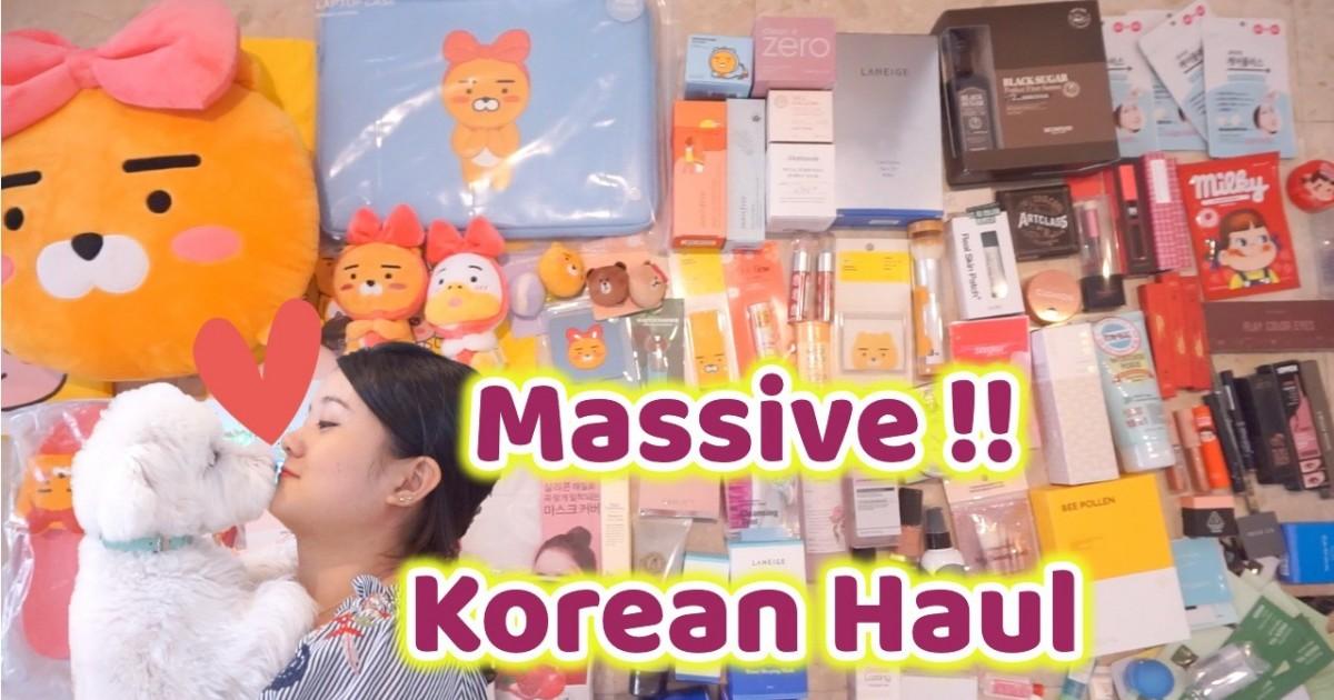 [ENG] Korean Massive Haul: Makeup, LINE&KAKAO