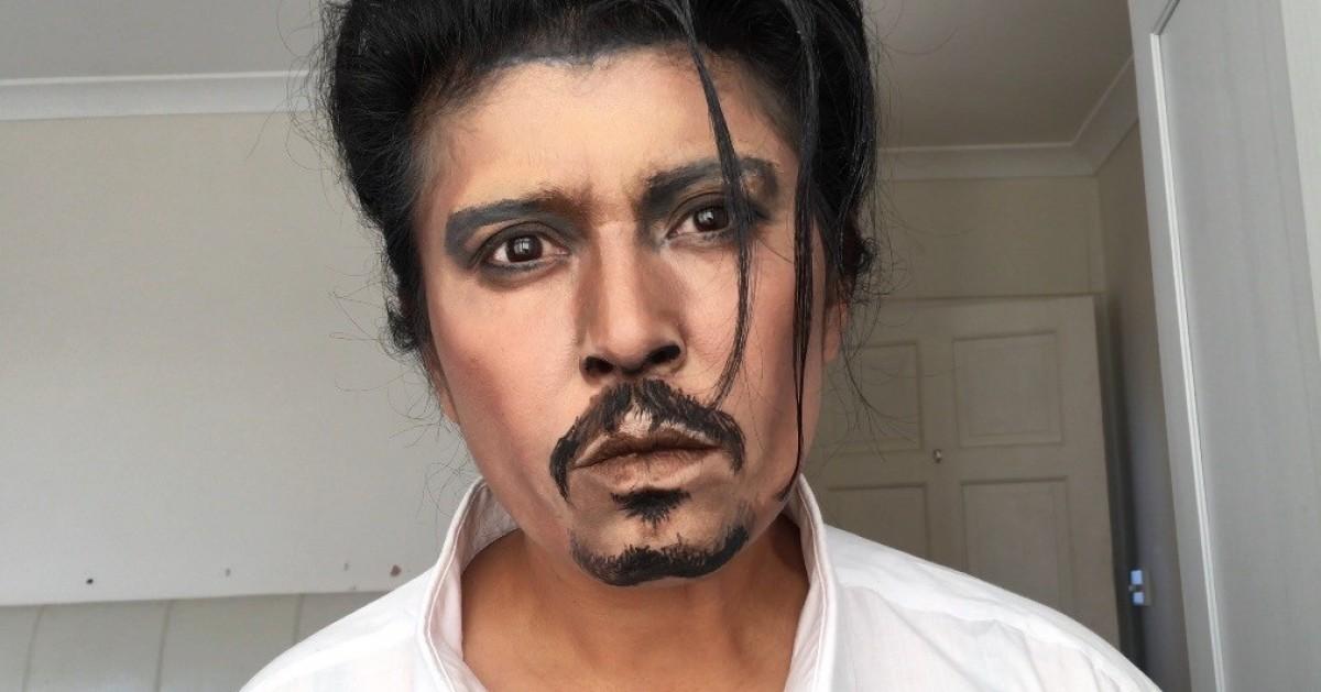 Happy belated birthday for the talented Johnny Depp แปลงร่างเป็น จอห์นนี่ เด็ปป์ ค่ะคุณขา