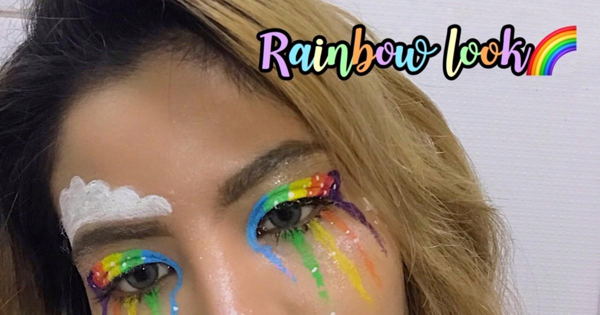 Rainbow pride look 🌈