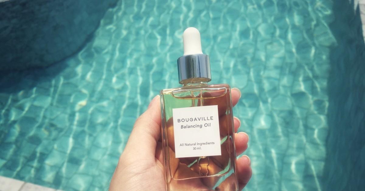 """ของขวัญจากธรรมชาติ """"Bougaville"""" ออยล์ปรับสมดุลผิว"""