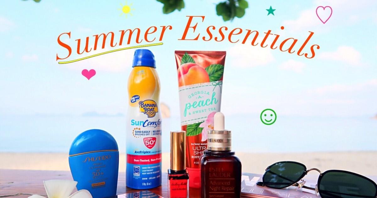 [Septemberthefifth] Summer Essentials ไม่ว่าจะร้อน จะฝนก็เอาอยู่!