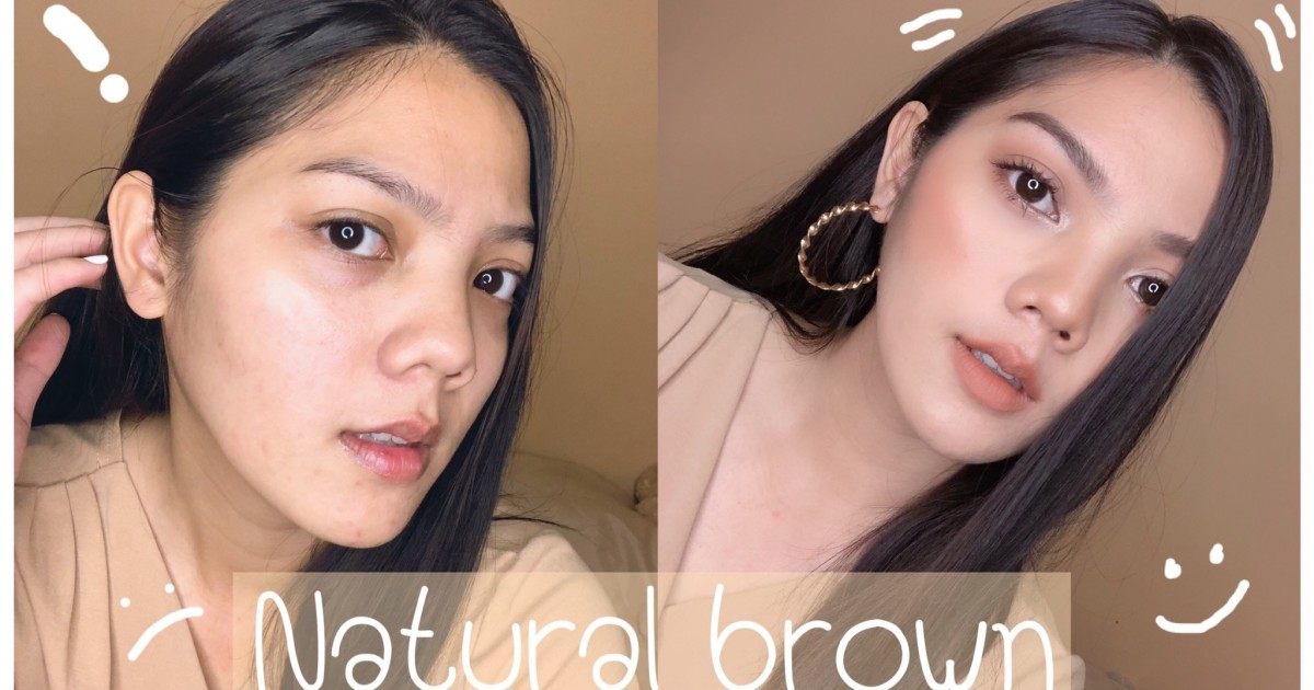 HOWTO : แต่งหน้า Natural Brown นัวกว่าปลาร้า ก็ลุคนี้แหละคร่าา | JUNELY KUNLAYA :)