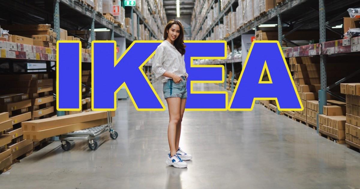 Vlog - ไปถ่ายรูปสวยๆ ที่ IKEA BANGNA กันเถอะ