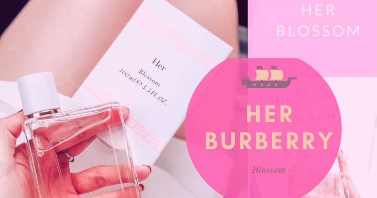Burberry HER Perfume กลิ่นนี้ ฉีดทีไรคนก็ทัก!! ใช้น้ำหอมอะไรหรอ ^^