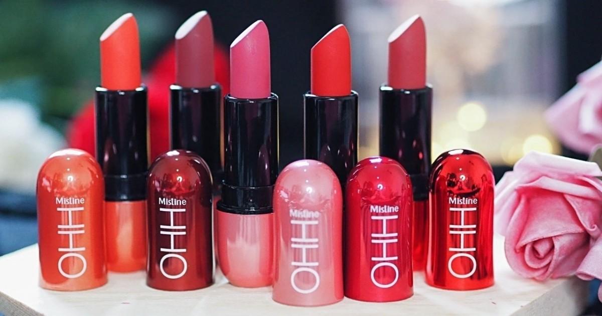 ลิปสังหาร !คอลเลคชั่นใหม่จาก มิสทีน โอ้ ลิปสติก (Mistine OHH Lipstick )
