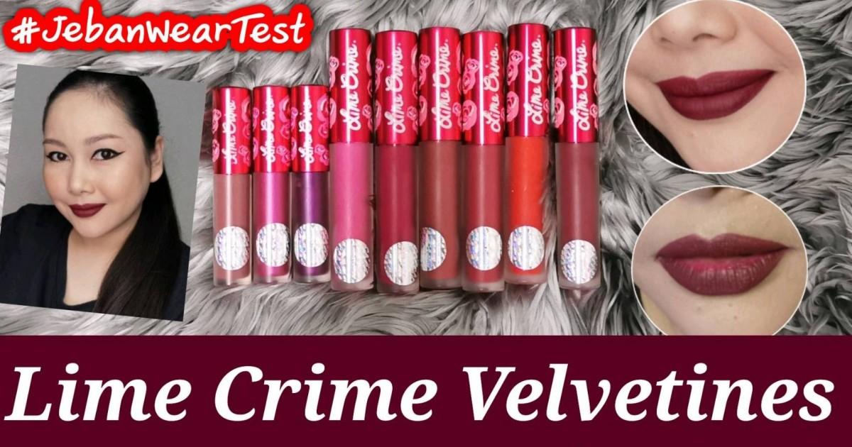 #JebanWearTest : Liquid Lipstick ที่ไม่ใช่ลูกรักแต่ขาดไม่ได้ เพราะติดทนมาก