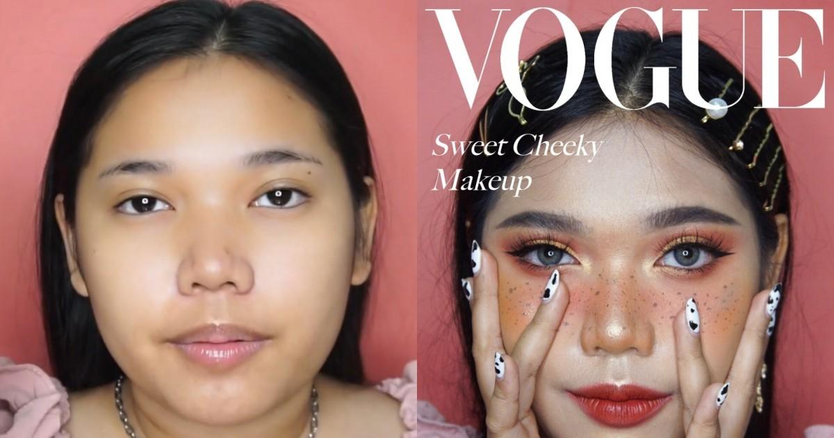 Sweet Cheeky Makeup | แต่งหน้าหวานๆ ไปขึ้นปกกับจีบันค่ะ | NNINKK