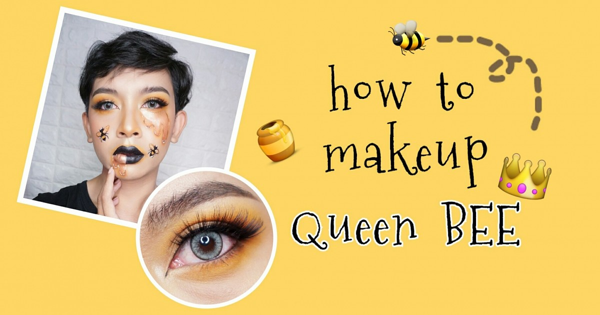 How to make-up Queen BEE🐝👑🍯