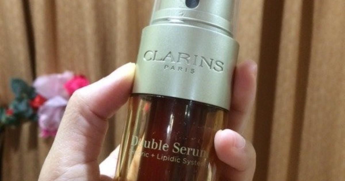 เซรั่ม ที่ ใครๆ ก็ว่าดี..Clarins double serum