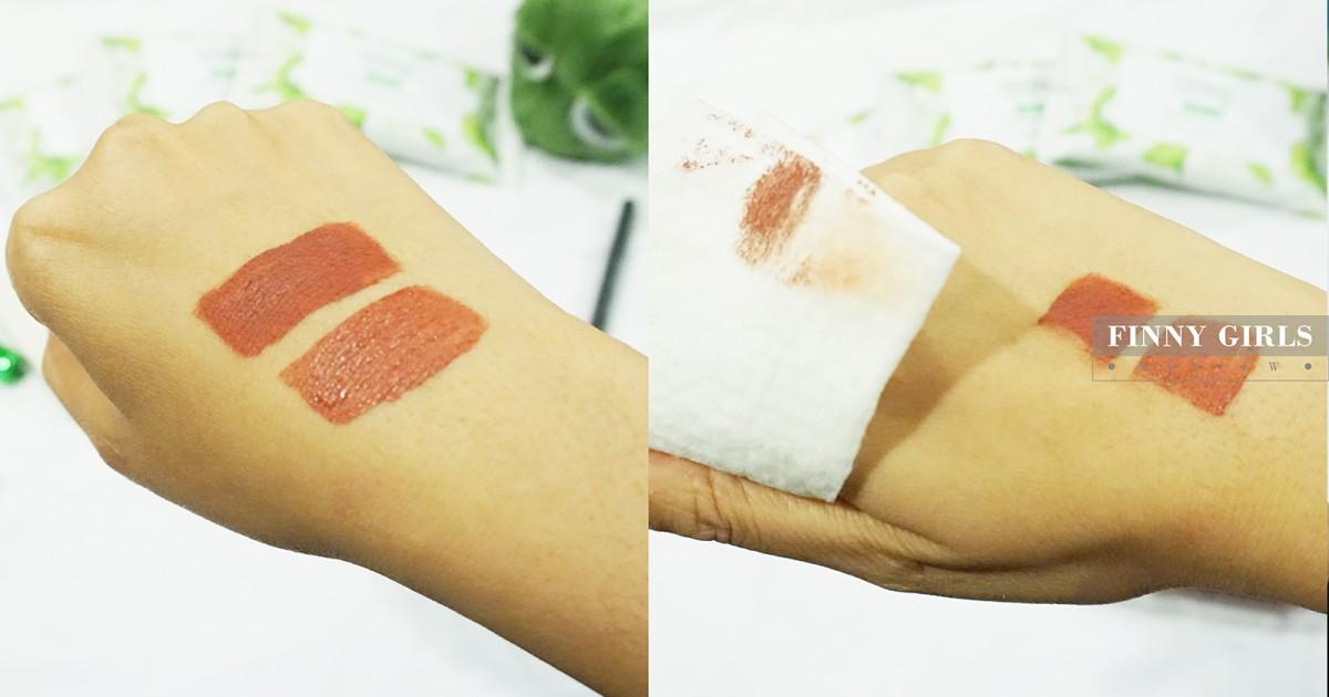 [REVIEW] ทิชชู่ทำความสะอาดเครื่องสำอาง Ginkgo Natural Cleansing Tissue