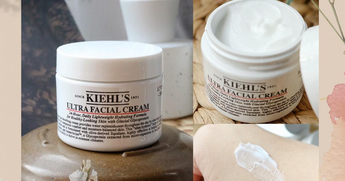 REVIEW Kiehl's Ultra Facial Cream ไอเท็มสำหรับคนผิวแห้ง ต้องมี!!
