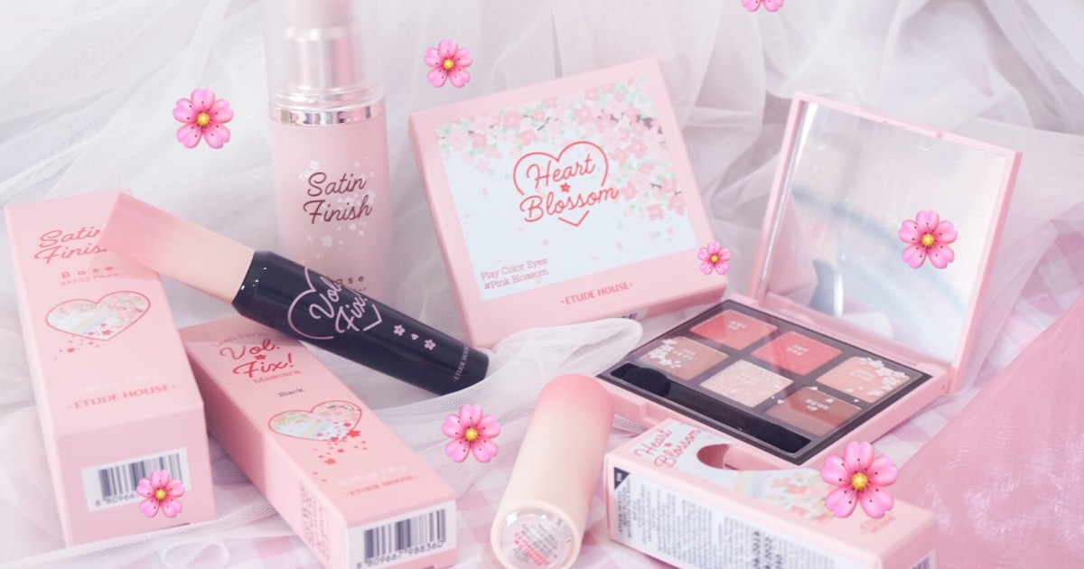 Review : Etude House Heart Blossom Collection 🌸