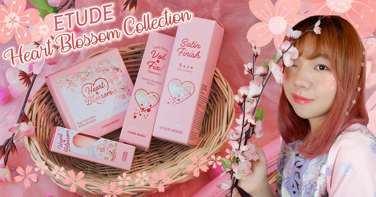 Review:🌸ETUDE Heart Blossom Collection 🌸