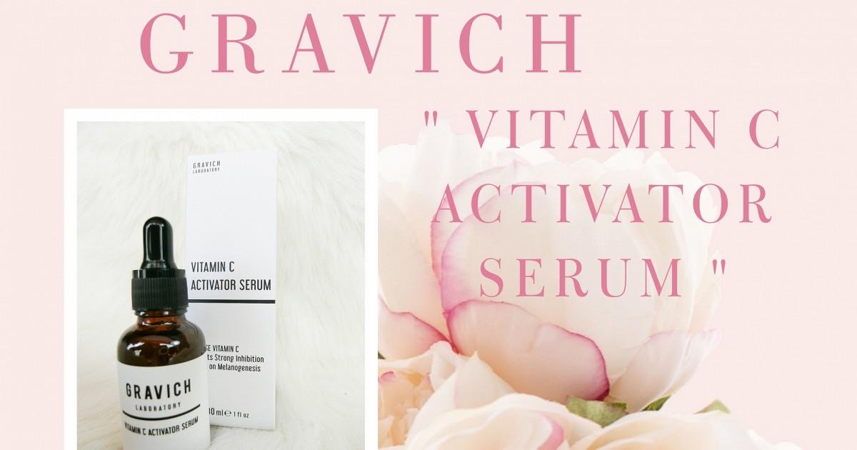 เซรั่มหน้าใส GRAVICH Vitamin C เข้มข้น 🍋