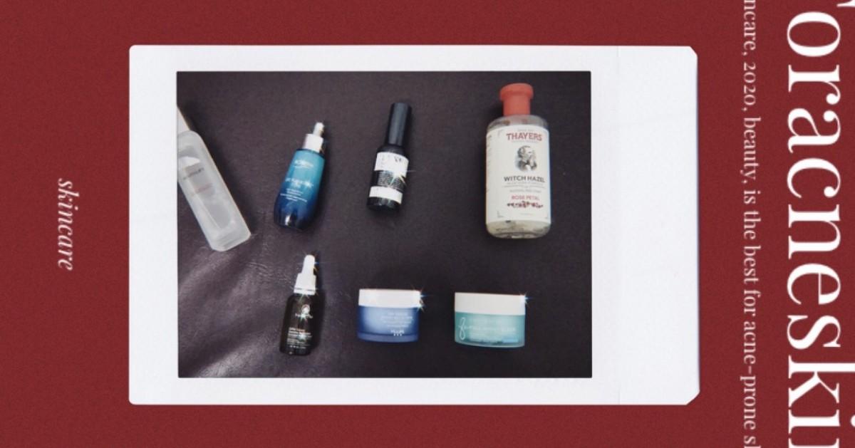 Skincare 2020 for acne-prone skin :: แก้ปัญหาผิวเป็นสิวด้วยความชุ่มชื้น