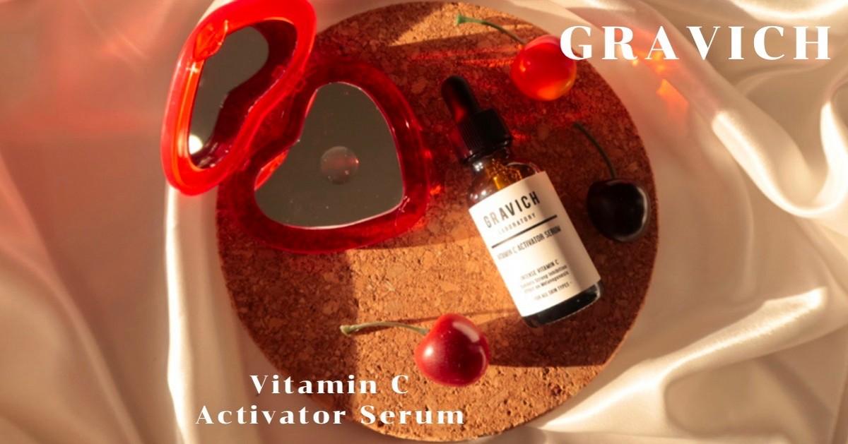 Gravich Vitamin C Activator เซรั่มวิตามินซีเข้มข้น ผิวกระจ่างใส ในขวดเดียว