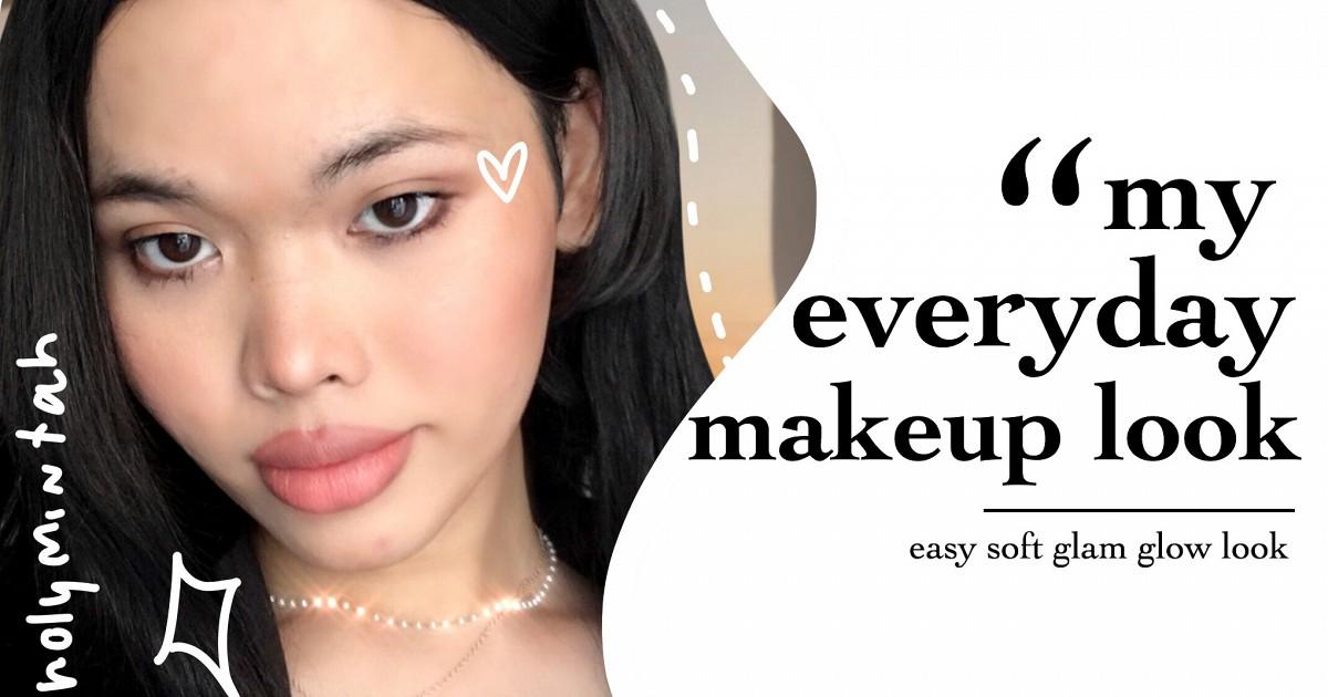 my everyday makeup look ✨ by holymintah