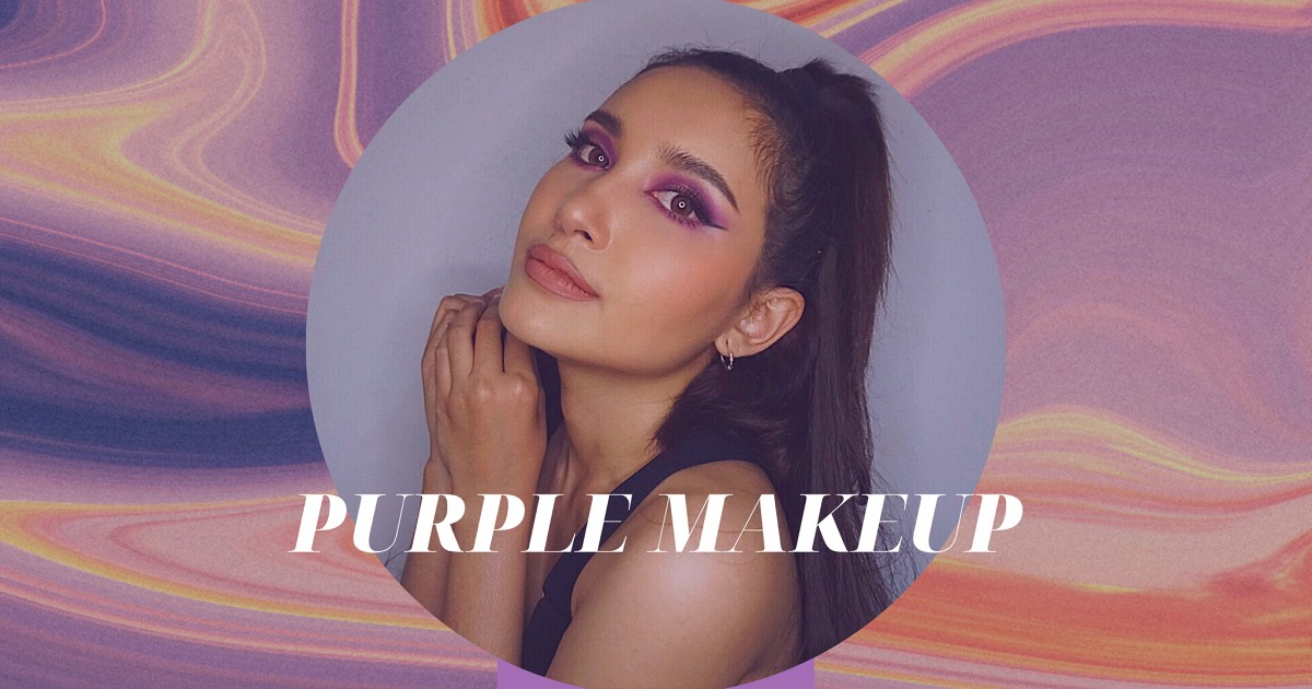 How to contest ท้าสะบัดแปรง!! Purple Makeup