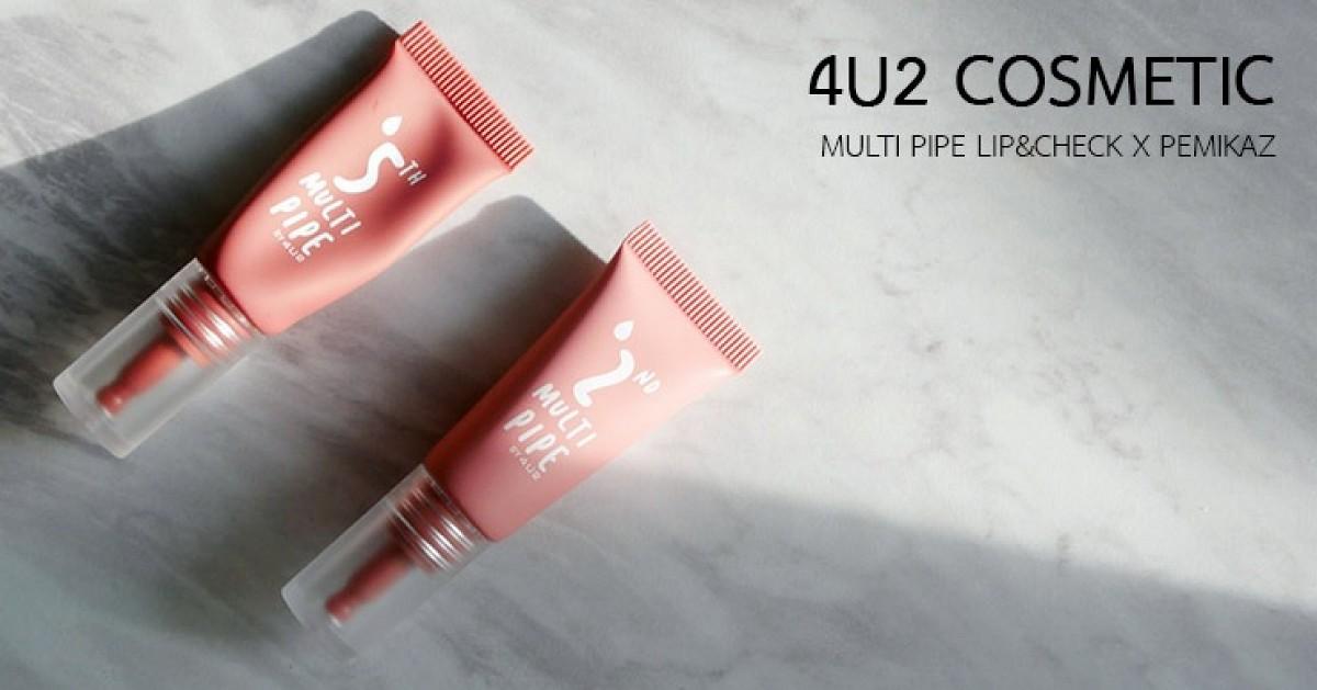 เปมิการีวิว 4u2 Multi Pip lip & check สี 02/05 ทาแล้วจะสวยตาม AD ไหม?