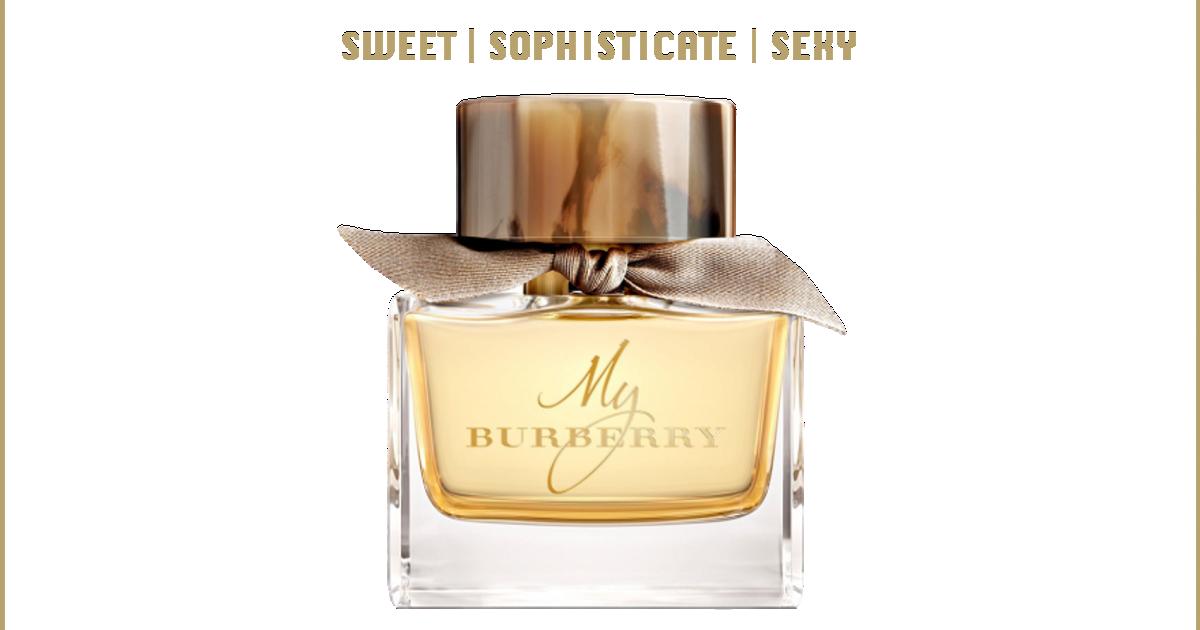 ♥️ หวาน ซ่อน เซ็กซี่ กับ MY BURBERRY Eau de Parfum ♥️