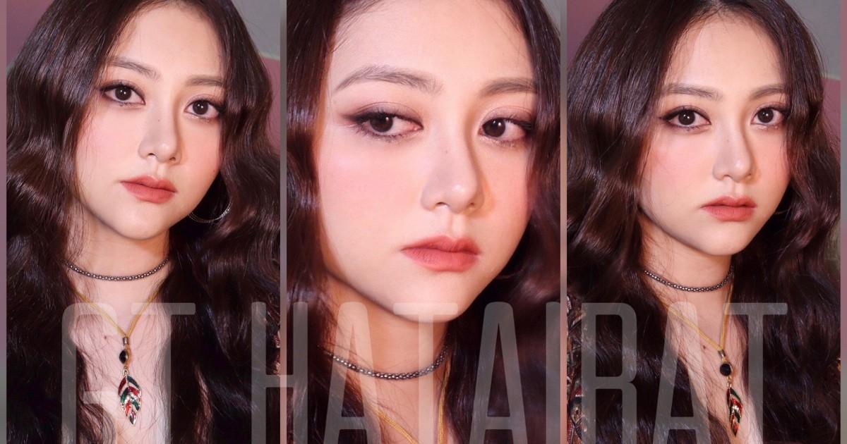 เบ้าหน้าไม่ใช่แต่อยากได้ลุคนี้ : BLACKPINK JISOO Makeup tutorial - GT Hatairat