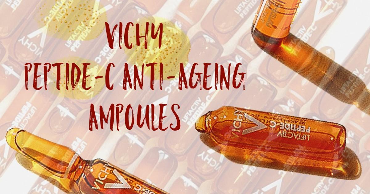 VICHY Peptide-C Anti-Ageing Ampoules ตัวจิ๋ว ตัวช่วยเรื่องริ้วรอย