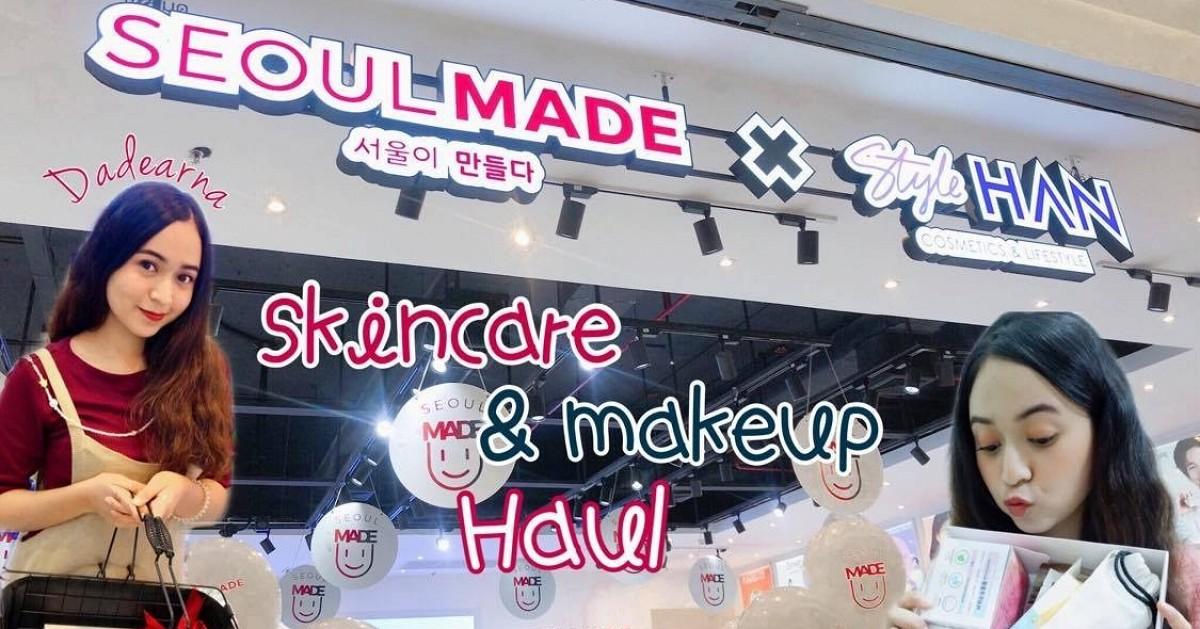 DADEARNA X Skincare& Makeup haul | แกะถุงช้อปไอเทมเกาหลี SEOULMADE x StyleHAN