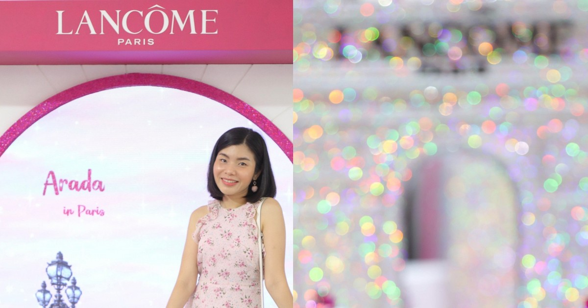 Happiness Avenue is here with LANCOME