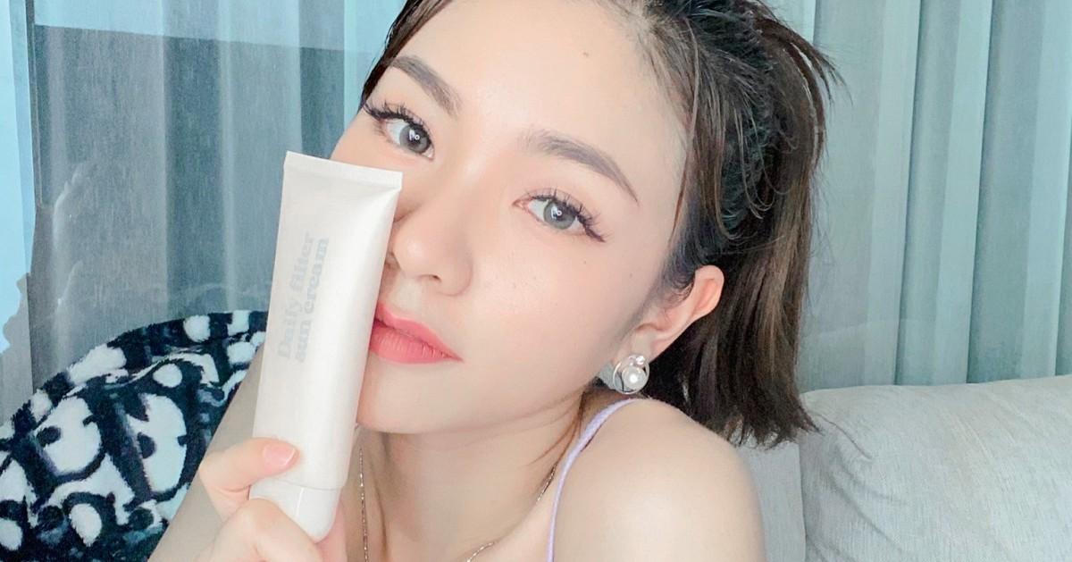 แดดร้อนเหมือนเตาเผาเราก็สู้เพราะมี 🤍 Lamoon รุ่น Daily filter Sun Cream 🤍