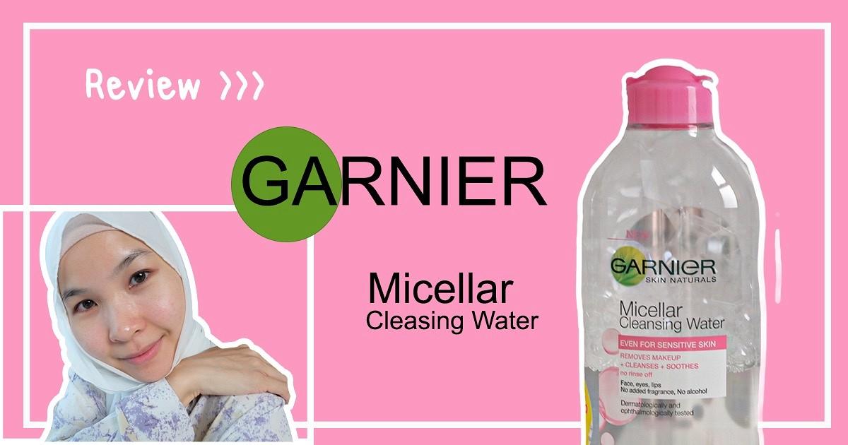 """รีวิว>> ถูกและดี อยู่นะ """"GANIER Micellar Cleansing Water"""""""