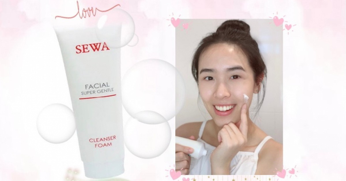 รีวิว SEWA Facial Foam โฟมล้างหน้าดีๆคู่ใจ