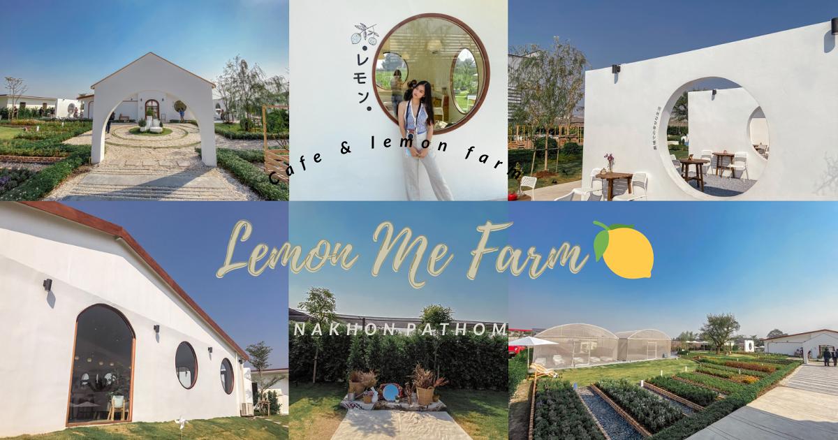 Lemon Me Farm : คาเฟ่เปิดใหม่ย่านนครปฐม กับมุมถ่ายรูปสไตล์มินิมอล~