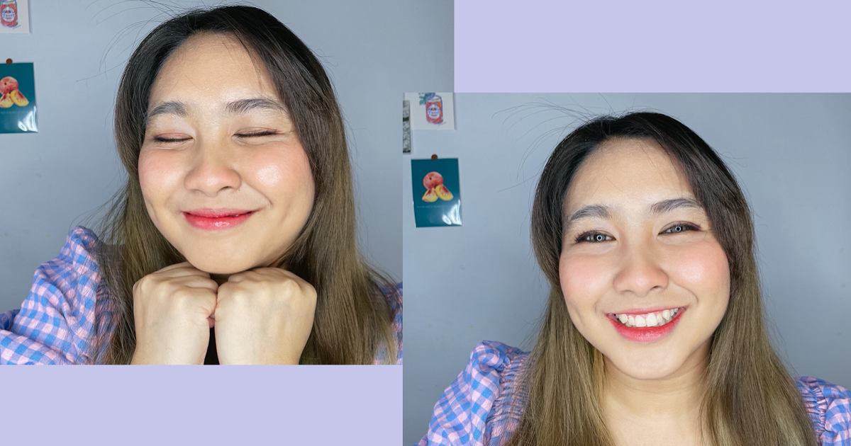 เสกหน้า Look Everyday Make up ด้วย lipstick