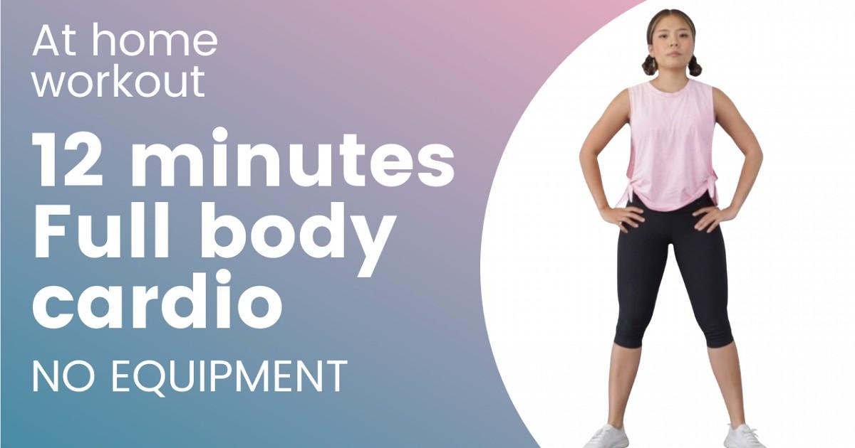 ออกกำลังกายสู้โควิด : คาดิโอง่าย ๆ ที่บ้านแค่ 12 นาที ไม่ต้องใช้อุปกรณ์ใด ๆ
