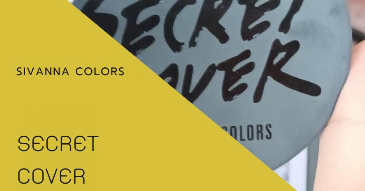 รีวิวแป้งผสมรองพื้น Sivanna Colors รุ่น Secret Cover