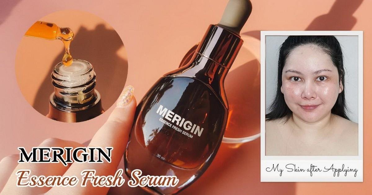 สุดยอดการดูแลผิวหน้าให้อ่อนเยาว์ด้วย Merigin Essence Fresh Serum