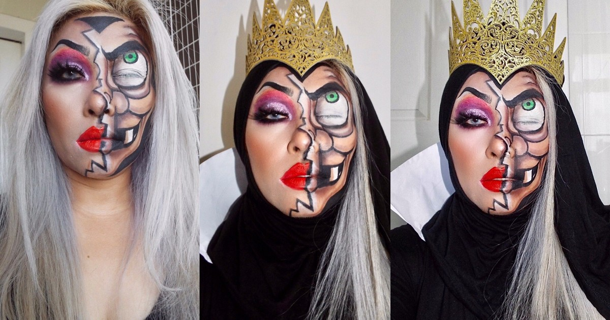 ⭕️⭕️The Evil Queen⭕️⭕️ #Disney makeup มาแล้ววววว ‼️‼️ รุ่นนี้เจ้าหญิงไม่ได้แล้วววว