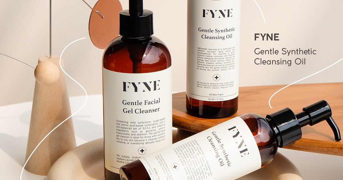 FYNE ꕀ Gentle Synthetic Cleansing Oil °