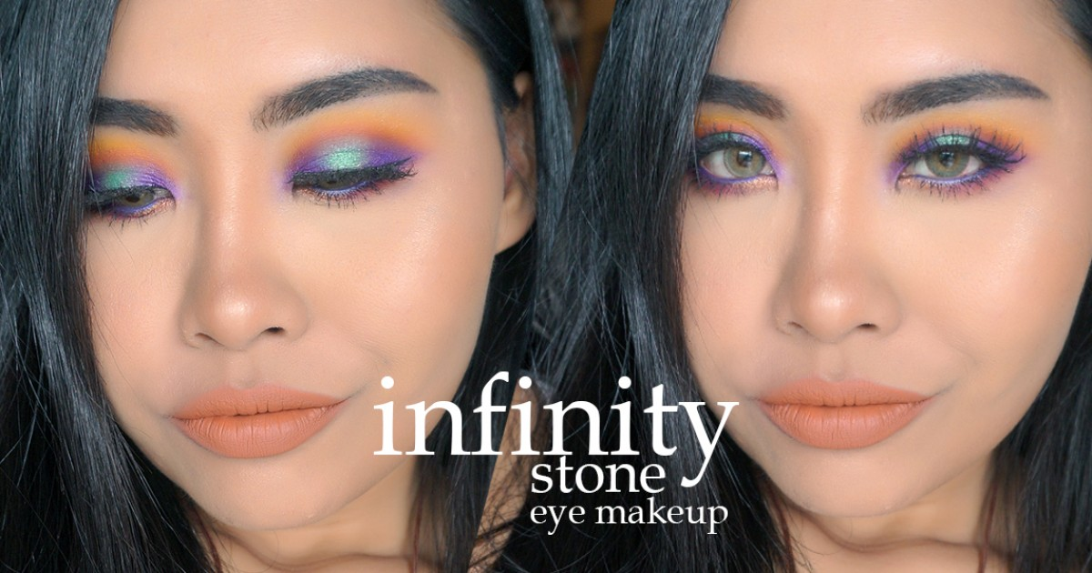 Howto : เปลี่ยนป้าเป็นสาวแซ่บ แต่งตาด้วยสี infinity stone! ฉบับออกไปเดินถนนได้ (รึเปล่า?) :P