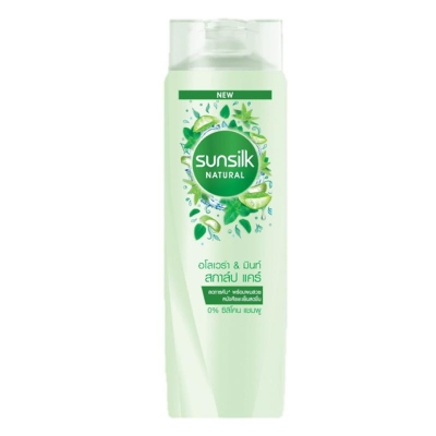 Natural Aloe Vera & Mint Scalp Care Shampoo