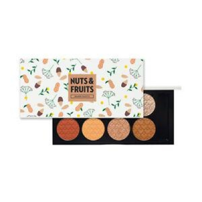 Nuts & Fruits Collection : My Beauty Tool Shadow Palette 8 Color
