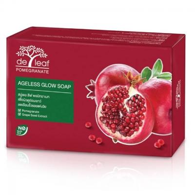 De Leaf Pomegranate Ageless Glow Soap