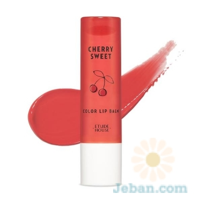 Cherry Sweet Color Lip Balm